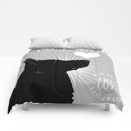 GERMAN SHEPHERD – My Companion - Gray Comforters