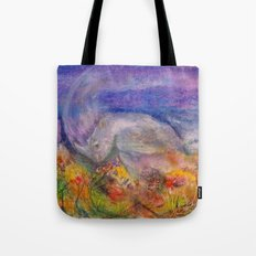 Rhino Wave Tote Bag
