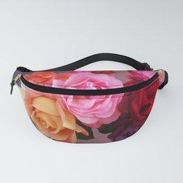 Carmen Miranda inspired roses - Floral perfection Fanny Pack