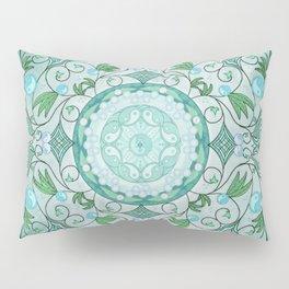 Balance of Nature Healing Mandala Pillow Sham