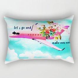 Let´s go and make memories Rectangular Pillow