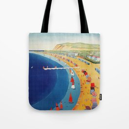 Cattolica 1920s Italy travel Tote Bag