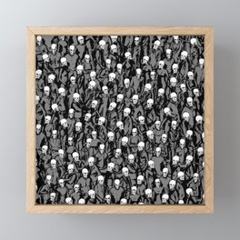 Skull Society Framed Mini Art Print