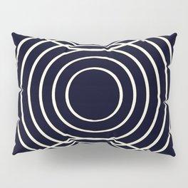 Life Balance Black Pillow Sham