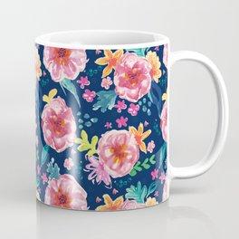 Blue Watercolor Delight Coffee Mug