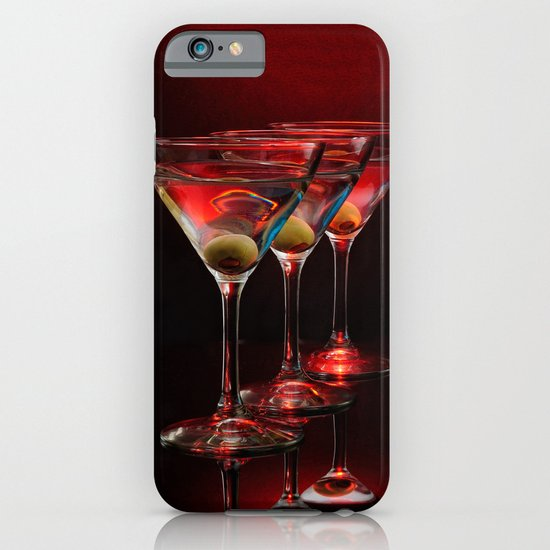 Red hot martinis. iPhone & iPod Case
