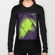 Purple Color Package Long Sleeve T-shirt