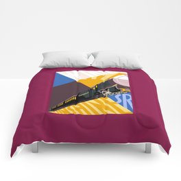 Travel South for Winter Sunshine Comforters