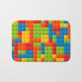 Bricks geometric pattern Bath Mat