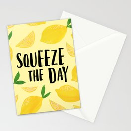 Squeeze the Day Stationery Cards