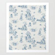 Toile de StarWars Art Print