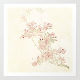 In the Blossoming 2019 Art Print