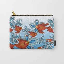 Peces en mi Jardin Carry-All Pouch
