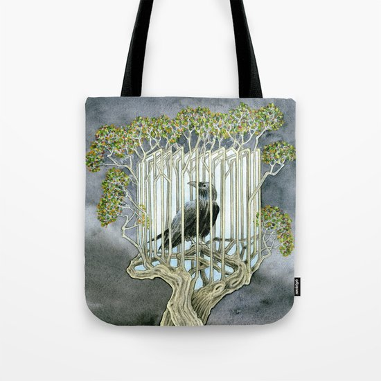 Wicked nature Tote Bag