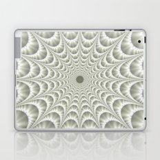 Quilted Web in White Laptop & iPad Skin