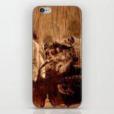 Charles Bukowski - wood - quote iPhone & iPod Skin
