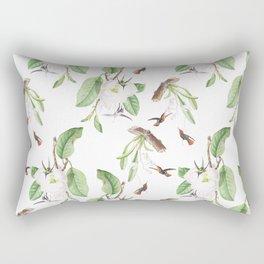 Birds #4 Rectangular Pillow