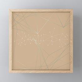 LIGHT LINES ENSEMBLE VIII Framed Mini Art Print