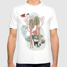 A Stick-Insects Dream White MEDIUM Mens Fitted Tee