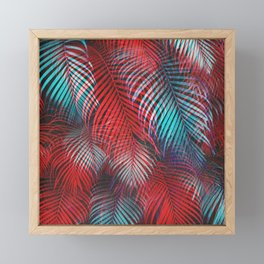 Tropical Tremolo Framed Mini Art Print