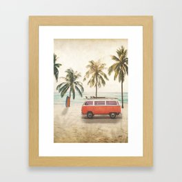 Traveling Time Framed Art Print