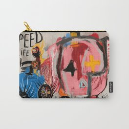 """""""The speed of life"""" Street art graffiti and art brut Carry-All Pouch"""