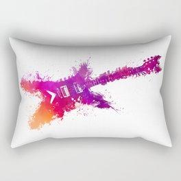 Electric guitar purple Rectangular Pillow