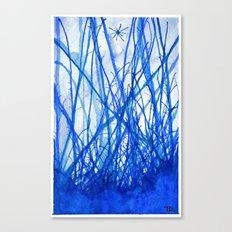 Blue Holiday Canvas Print