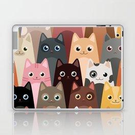 Cats Pattern Laptop & iPad Skin