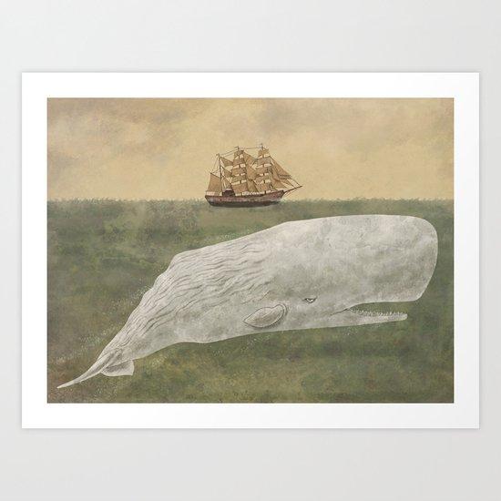 Far From Nantucket  Art Print