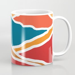 Bright Mountain Range Coffee Mug