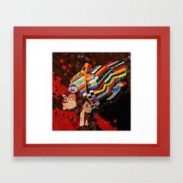 AFRICA QUEEN Framed Art Print