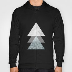Snow into the forest Hoody