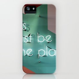 this must be the place iPhone Case