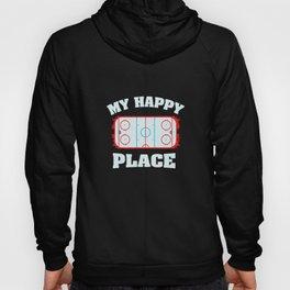 Ice Hockey Shirts I cheerleader gift Hoody