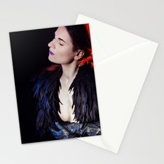Dark Fashion Stationery Cards