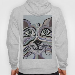 Denim Cat Hoody