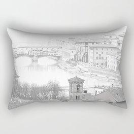 The Bridge. Rectangular Pillow