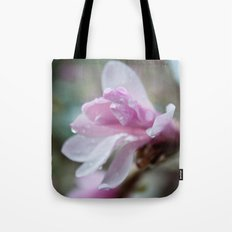 spring pink magnolia flower photography.   Tote Bag
