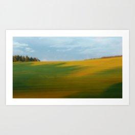 120km/h Art Print