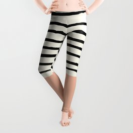 Peach x Stripes Leggings