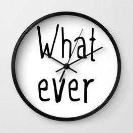 Whatever Wall Clock