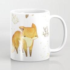 Lonely Winter Fox Mug