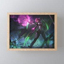 Super Galaxy Elise League of Legends Framed Mini Art Print