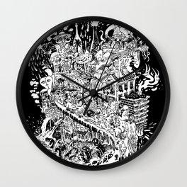 Slimy City Wall Clock