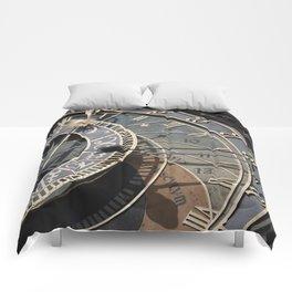 Astronomical clock Prague Comforters