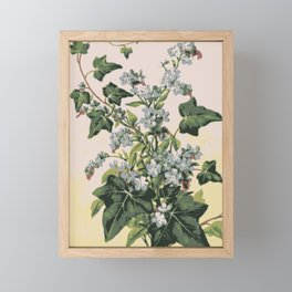 Flower composition Framed Mini Art Print