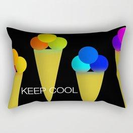 Ice Cream Cool Rectangular Pillow