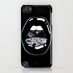 Space Lips Black iPod touch Slim Case