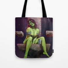 Gamora of Thrones Tote Bag